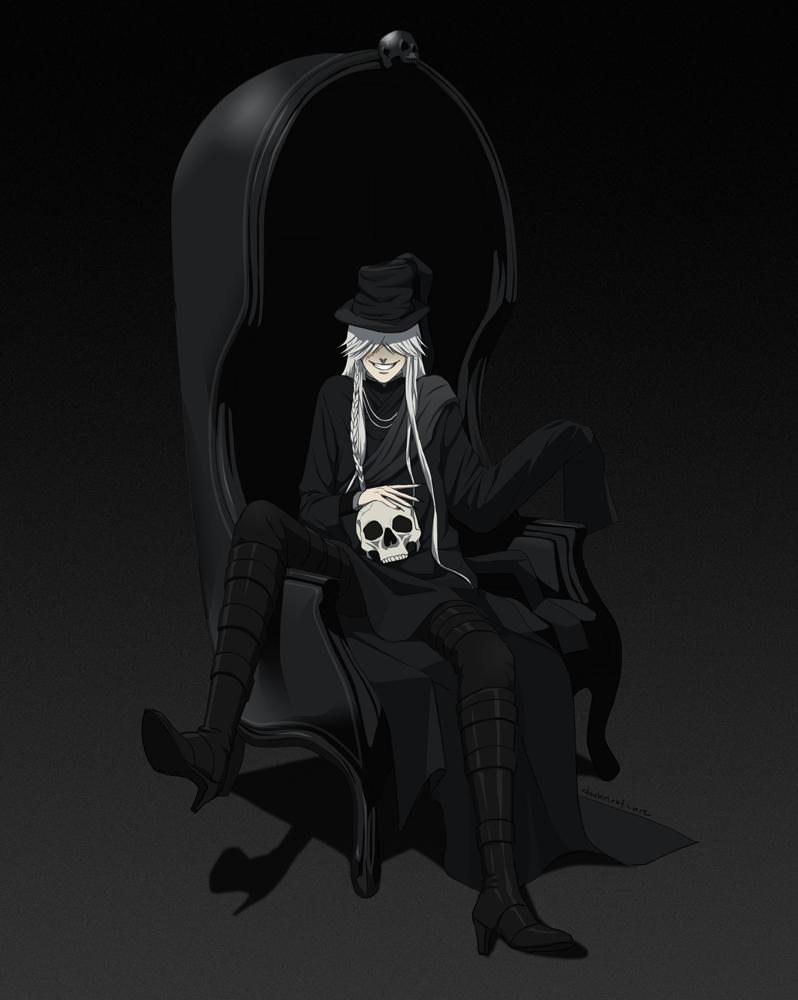 Undertaker Black Butler Full Body Download