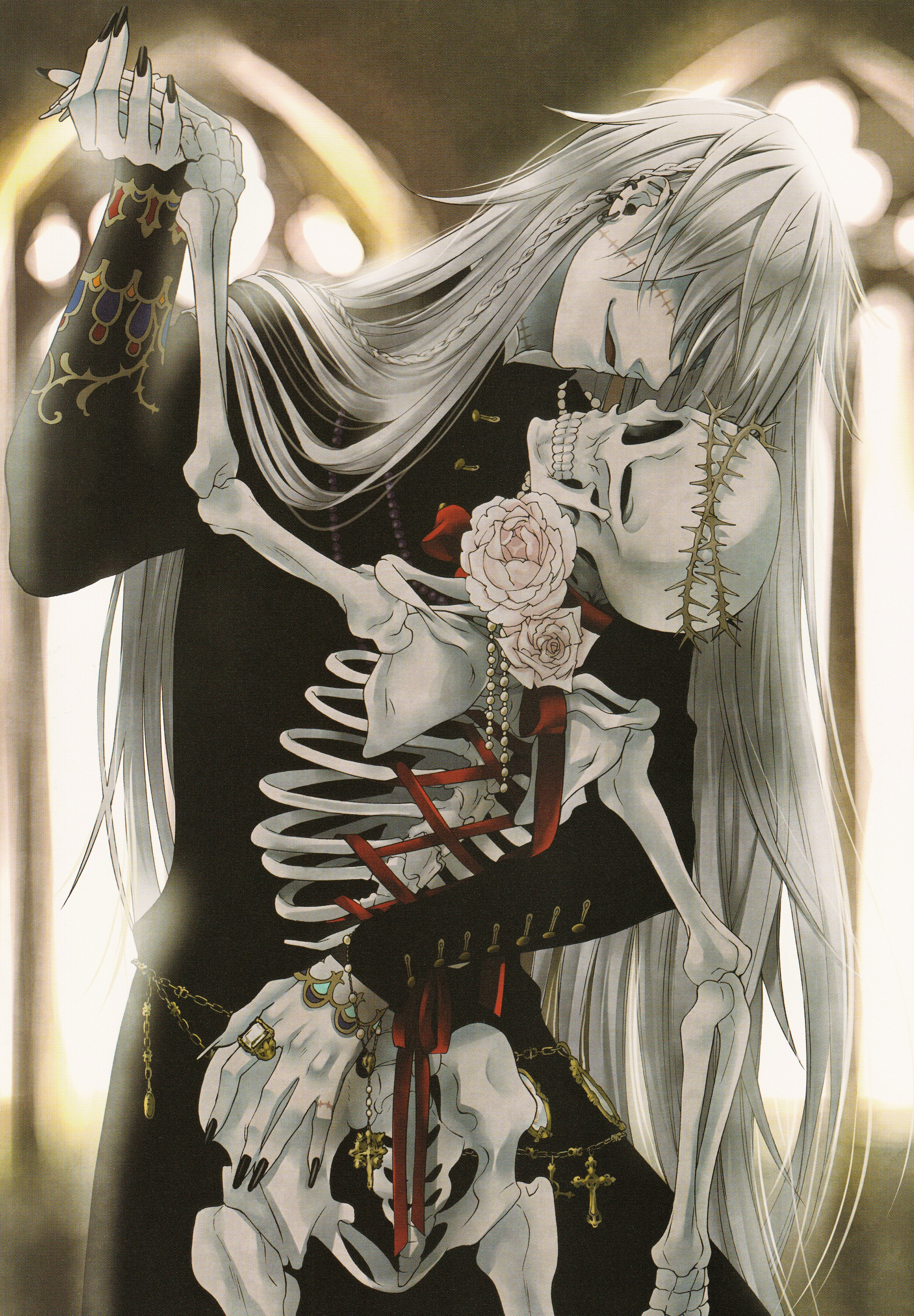 Tags Anime Toboso Yana Kuroshitsuji Black Butler Artworks 2 Undertaker