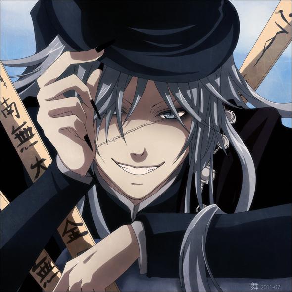 Tags: Anime, KuroMai, Kuroshitsuji, Undertaker, Eyeliner, deviantART, Fanart