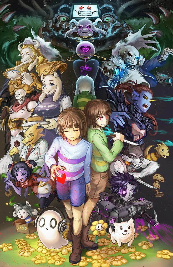 Chara Undertale Mobile Wallpaper Zerochan Anime Image Board