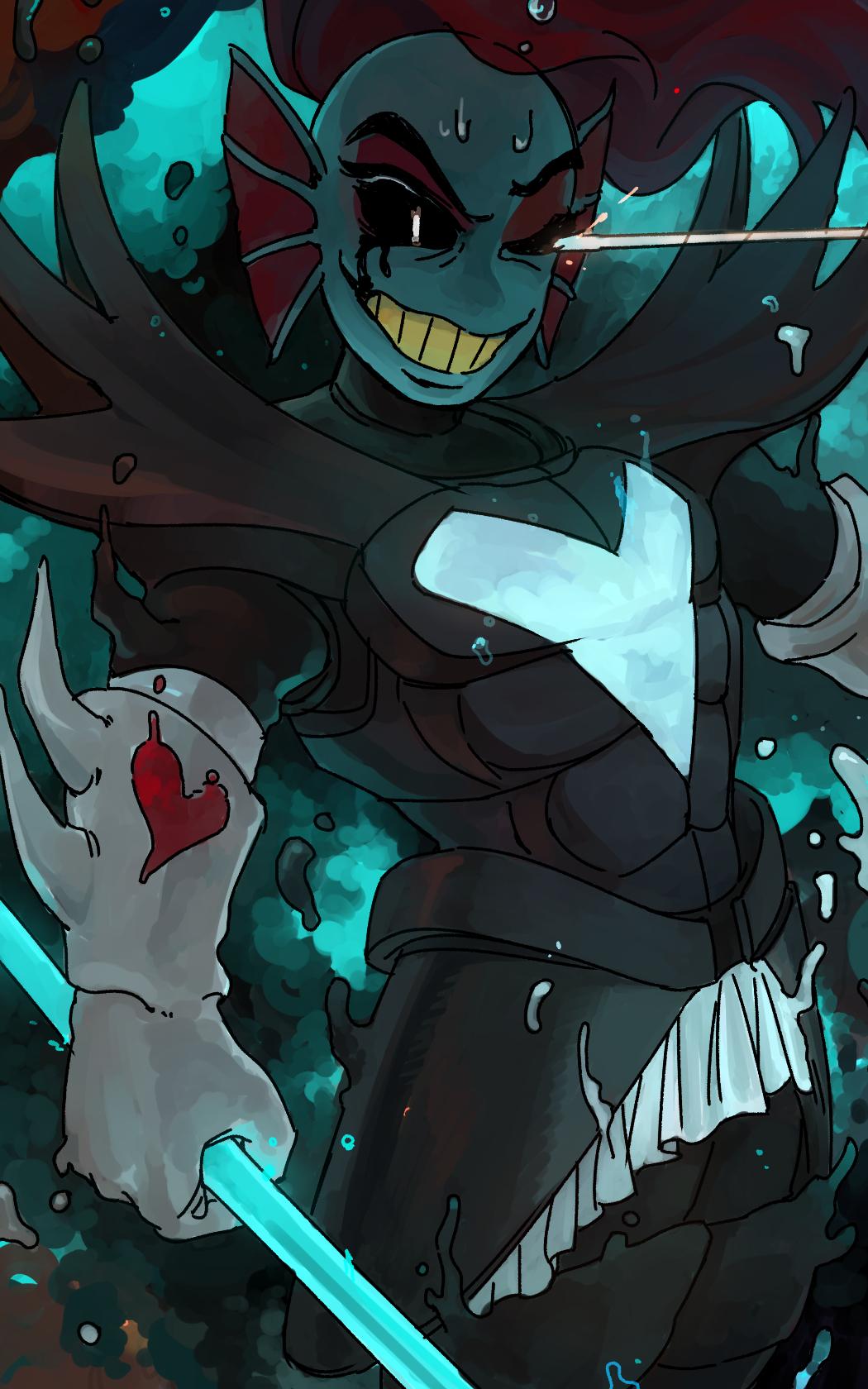 Undyne the Undying Image #2629526 - Zerochan Anime Image Board