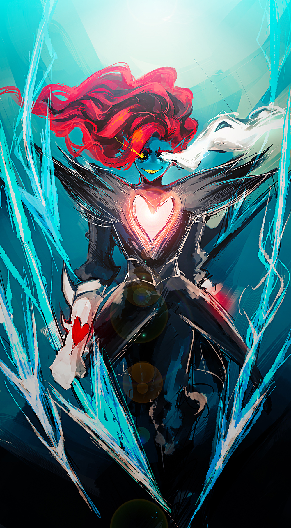 Undyne the Undying Image #2650798 - Zerochan Anime Image Board