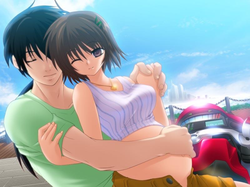 Беременная в аниме