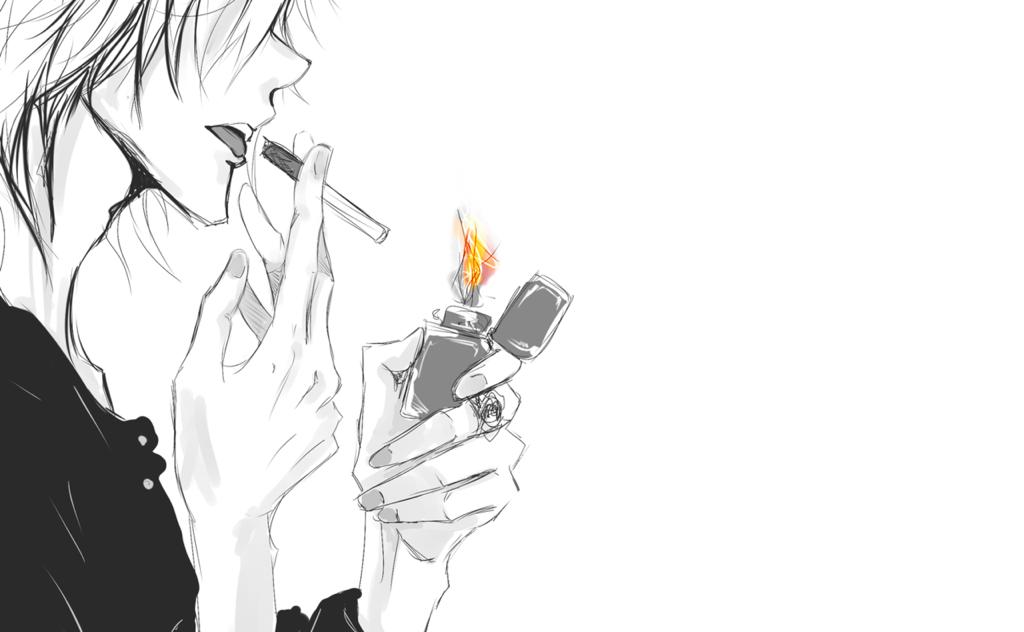 Аниме курить картинки