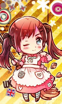 Tags: Anime, Himaruya Hidekaz, Axis Powers: Hetalia, United Kingdom (Female), Mobile Wallpaper, Official Art, Player 2, Nyotalia