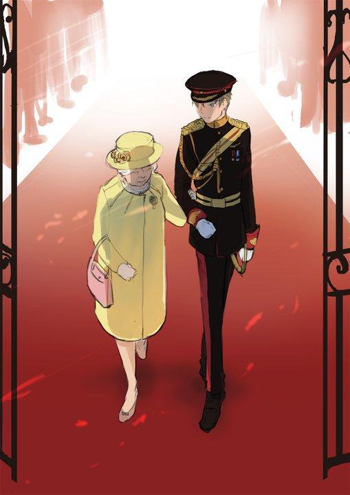 Tags: Anime, Hakuku, Axis Powers: Hetalia, United Kingdom, Mobile Wallpaper, Allied Forces