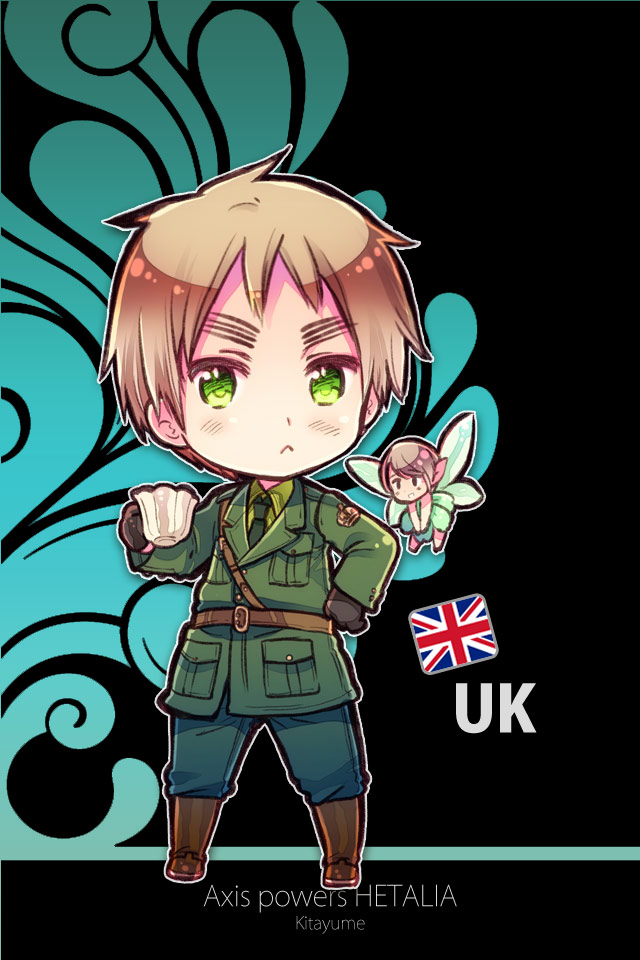 Tags: Anime, Himaruya Hidekaz, Axis Powers: Hetalia, Vert (Choujigen Game Neptune), United Kingdom, Official Art, Mobile Wallpaper, Allied Forces
