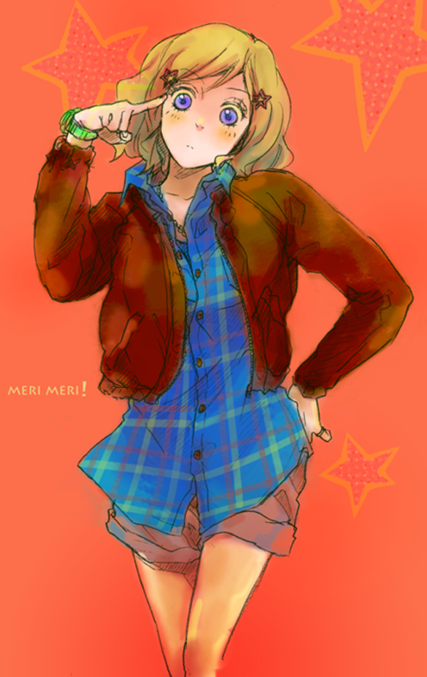 Tags: Anime, Axis Powers: Hetalia, United States (Female), Bomber Jacket, Brown Jacket, Nyotalia, Artist Request, Mobile Wallpaper