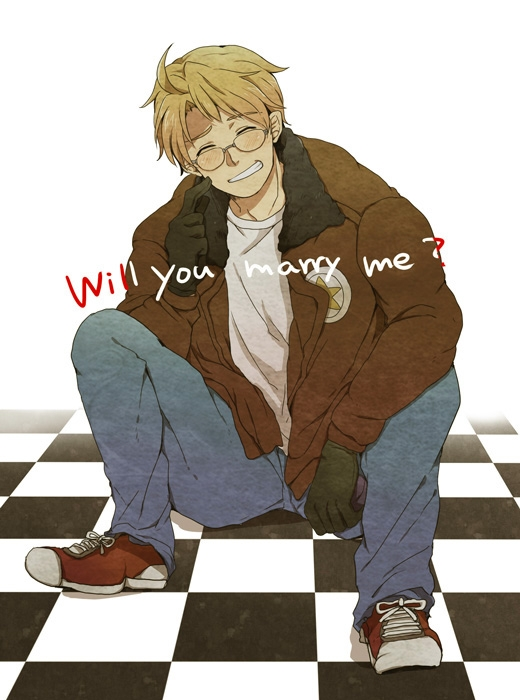 Tags: Anime, Pixiv Id 660575, Axis Powers: Hetalia, United States, Converse, Confession, Fanart, Pixiv, Allied Forces