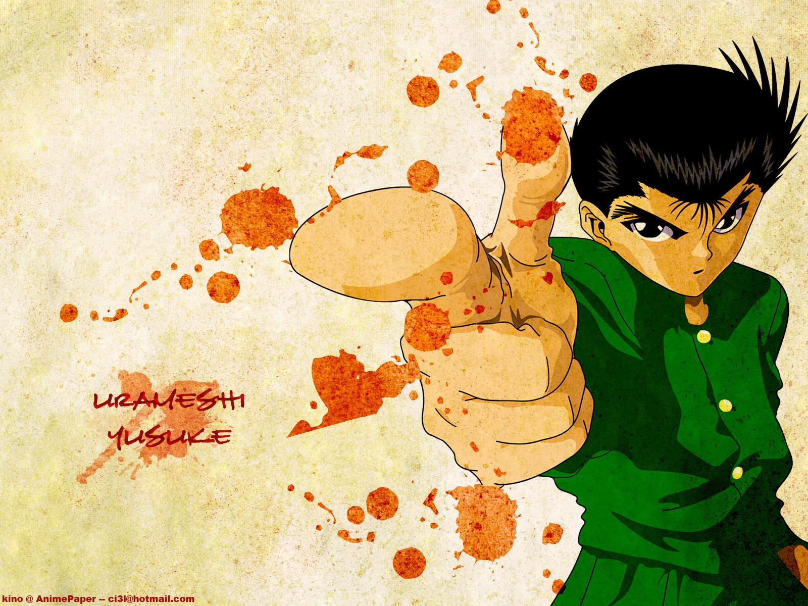 Urameshi Yuusuke Yu Yu Hakusho Zerochan Anime Image Board