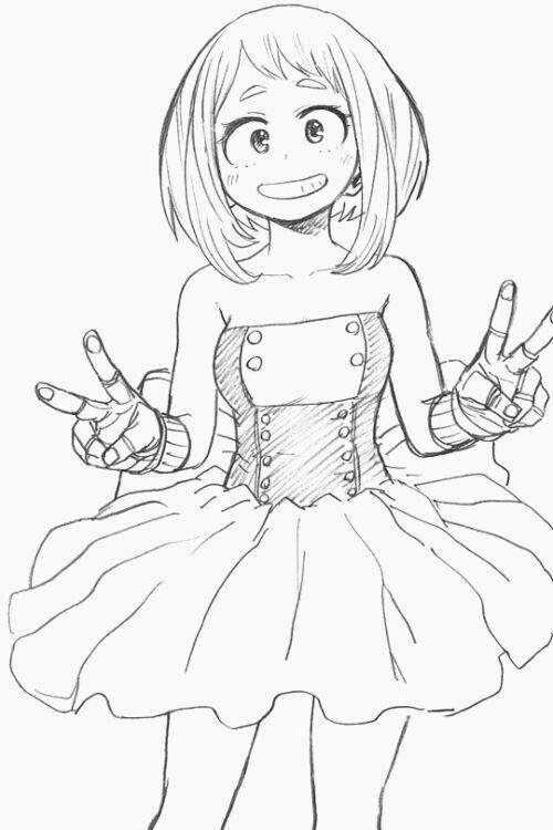 Uraraka Ochako Boku No Hero Academia Page 3 Of 27 Zerochan Anime Image Board