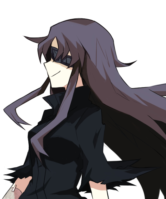 Tags: Anime, Shokushu Ura, Mirai Nikki, Uryuu Minene, Black Cape, Fanart From Pixiv, Fanart, PNG Conversion, Pixiv