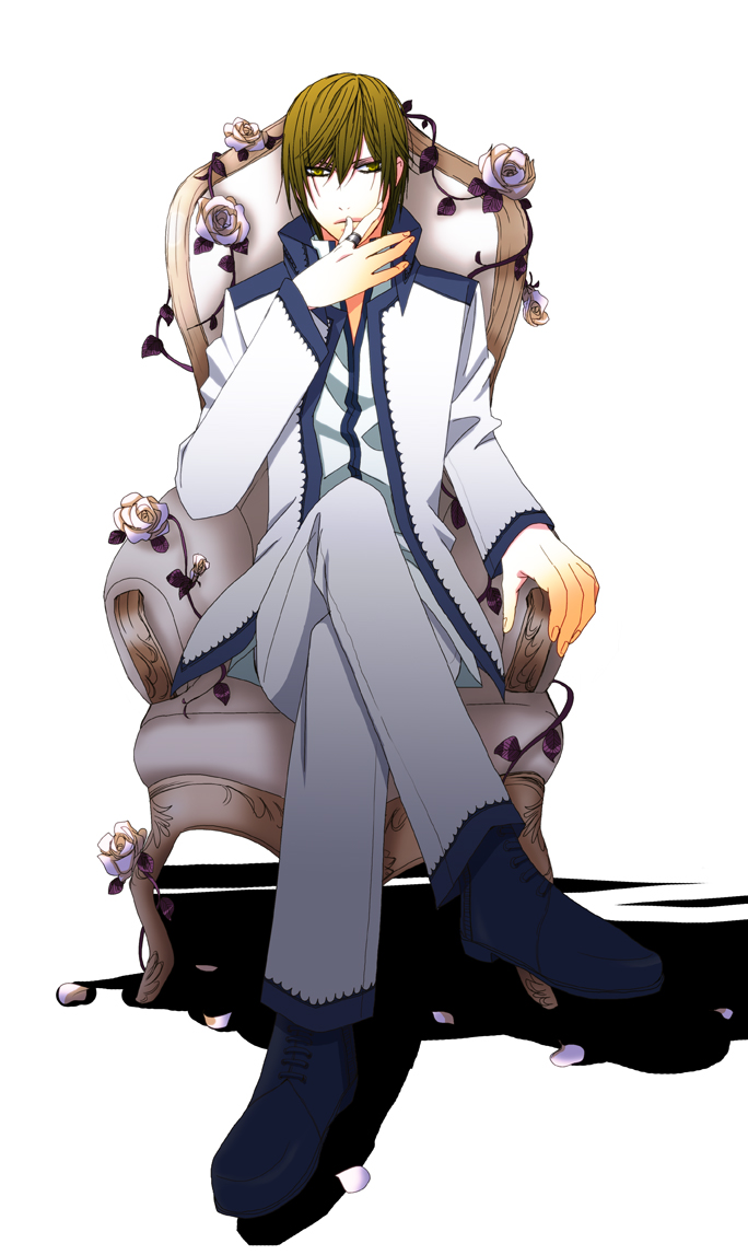 Anime Sitting On Chair Tags Anime  Pixiv Id 1400059