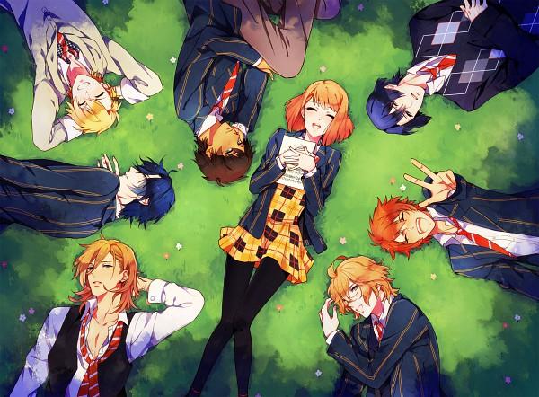 Tags: Anime, Konnyaku Yukko, Uta no☆prince-sama♪, Ittoki Otoya, Jinguji Ren, Hijirikawa Masato, Nanami Haruka