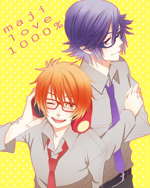 Tags: Anime, Pixiv Id 327599, BROCCOLI, Uta no☆prince-sama♪, Ittoki Otoya, Ichinose Tokiya, Fanart, Pixiv, Princes Of Song