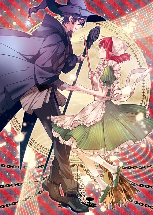 Tags: Anime, Roa Huduki, Uta no☆prince-sama♪, Nanami Haruka, Ichinose Tokiya, Cinderella (Parody), Fairy Godmother (Cosplay), Mobile Wallpaper, Pixiv, Fanart, Princes Of Song