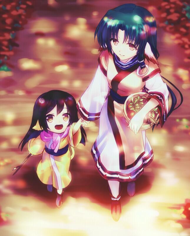 Tags: Anime, Rosa Tsubomi, Utawarerumono, Utawarerumono: Itsuwari no Kamen, Eruruu (Utawarerumono), Kuon (Utawarerumono), Ainu Clothes