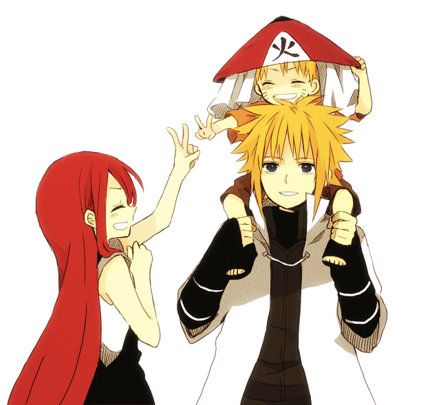 Uzumaki Family Naruto Image 1207898 Zerochan Anime