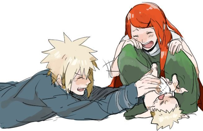 Tags: Anime, Pixiv Id 2418798, NARUTO, Uzumaki Naruto, Namikaze Minato, Uzumaki Kushina, Playing, Tickle, Diaper, Fanart From Pixiv, Pixiv, Fanart, Uzumaki Family