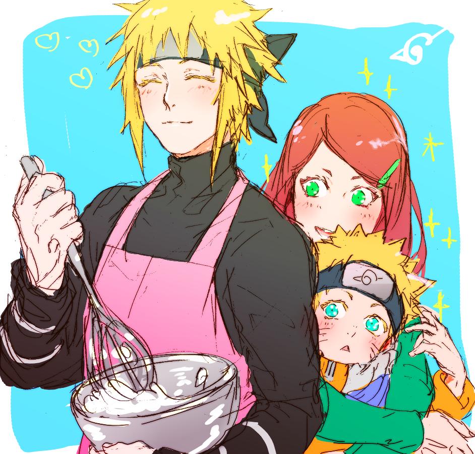 Uzumaki Family Naruto Image 1855964 Zerochan Anime