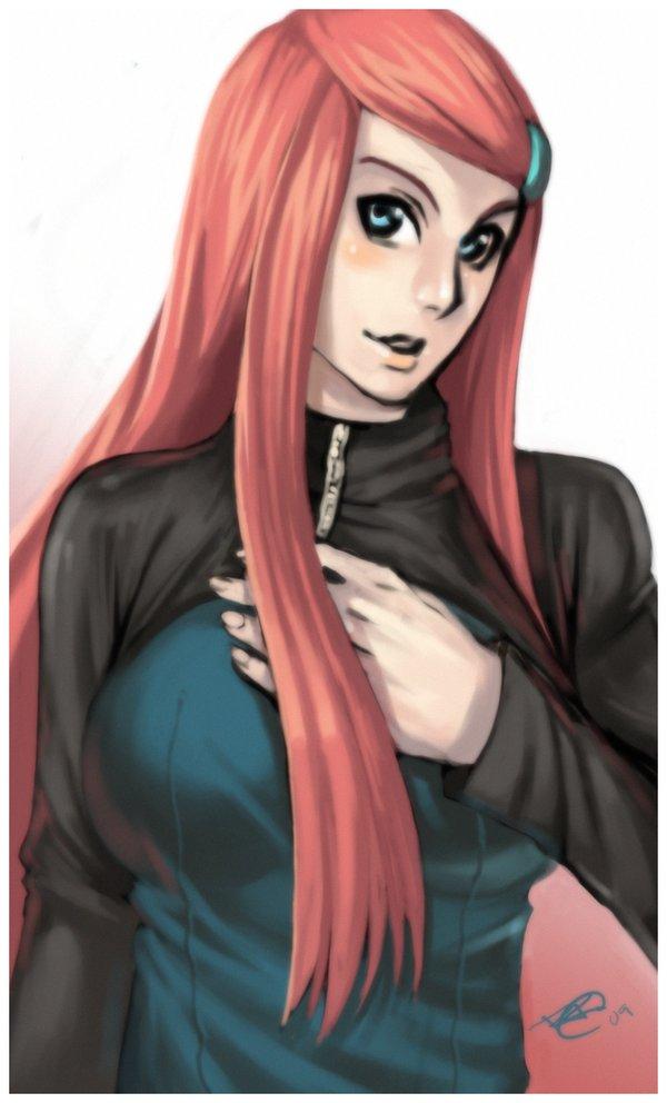 Tags: Anime, NARUTO, Uzumaki Kushina, Artist Request