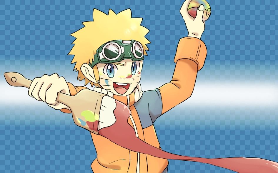 The Beginnings of Naruto by ninjabrick on DeviantArt