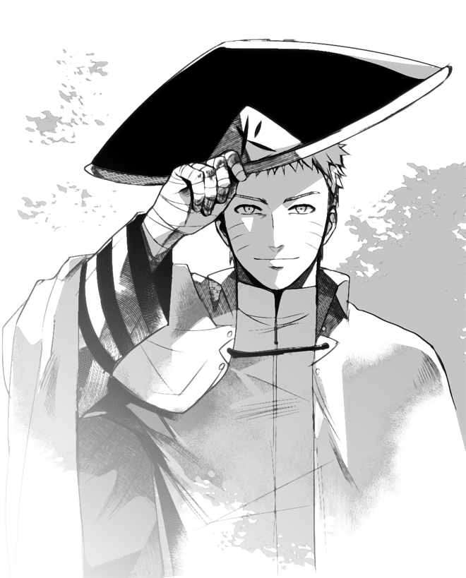 Tags: Anime, Pixiv Id 10072580, BORUTO, NARUTO, Uzumaki Naruto, Hokage Outfit, Fanart From Pixiv, Fanart, PNG Conversion, Pixiv