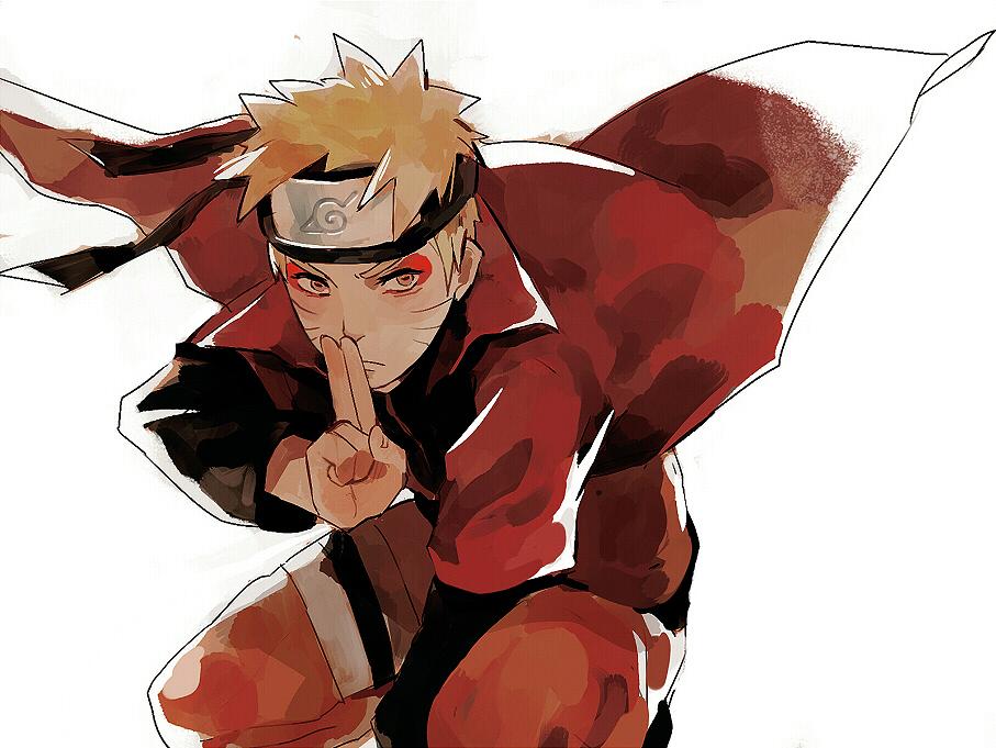 How To Draw Naruto Uzumaki Sage Mode