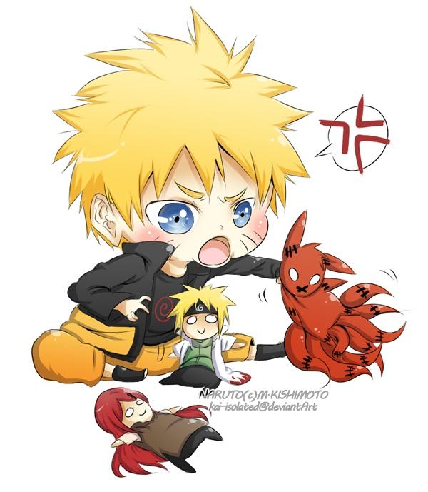 Tags: Anime, Kai Isolated, NARUTO, Namikaze Minato, Uzumaki Naruto, Uzumaki Kushina, Kyuubi (NARUTO)