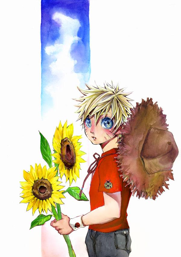 Tags: Anime, Yuhka, NARUTO, Uzumaki Naruto, Fanart, Jinchuuriki