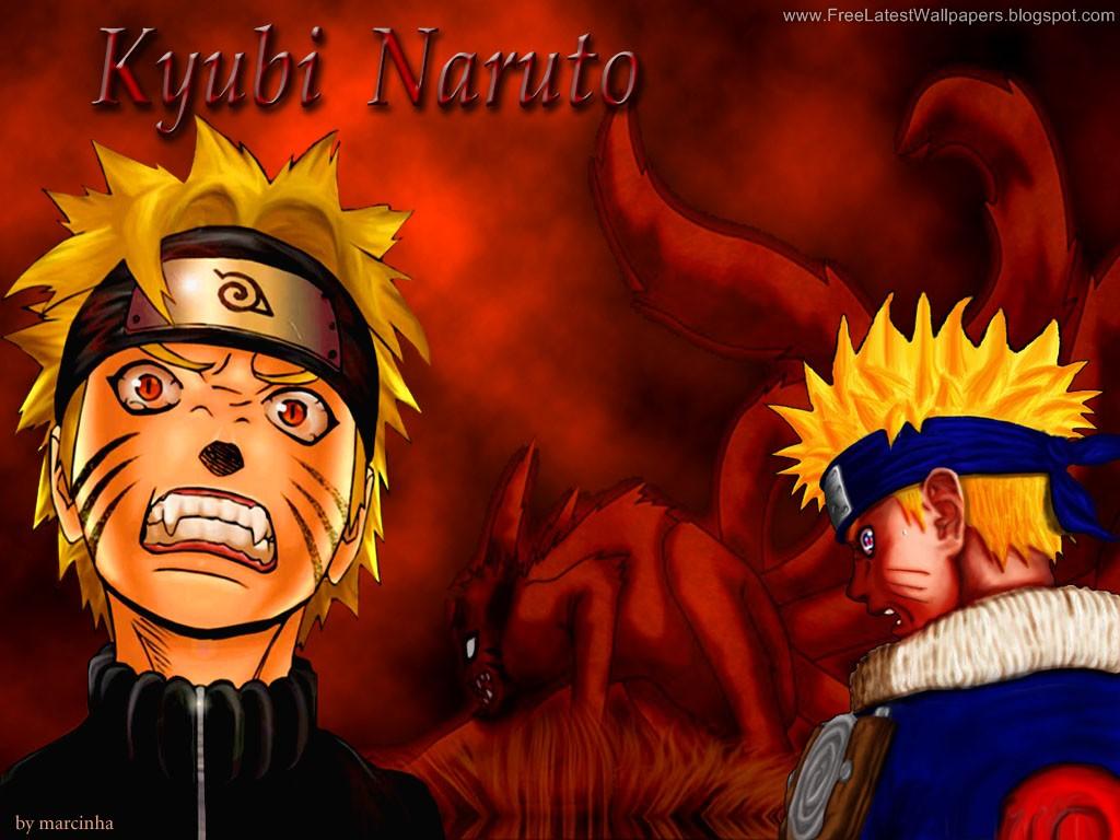 Kyuubi Jinchuuriki Uzumaki Naruto Wallpap...