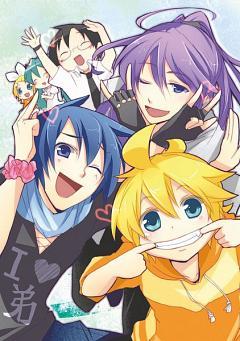 Kamui Gakupo, Chibi - Zerochan Anime Image Board