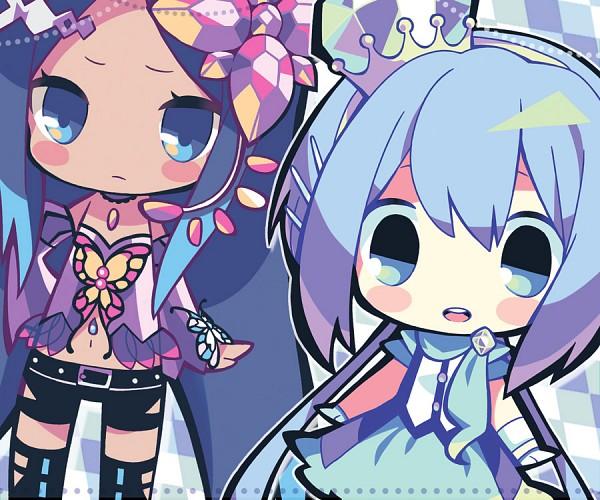 Tags: Anime, Maako, VOCALOID, Merli, Aoki Lapis, Sisters