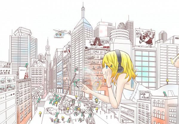 Tags: Anime, Sweeter, VOCALOID, Hatsune Miku, Megurine Luka, Kagamine Len, Kagamine Rin
