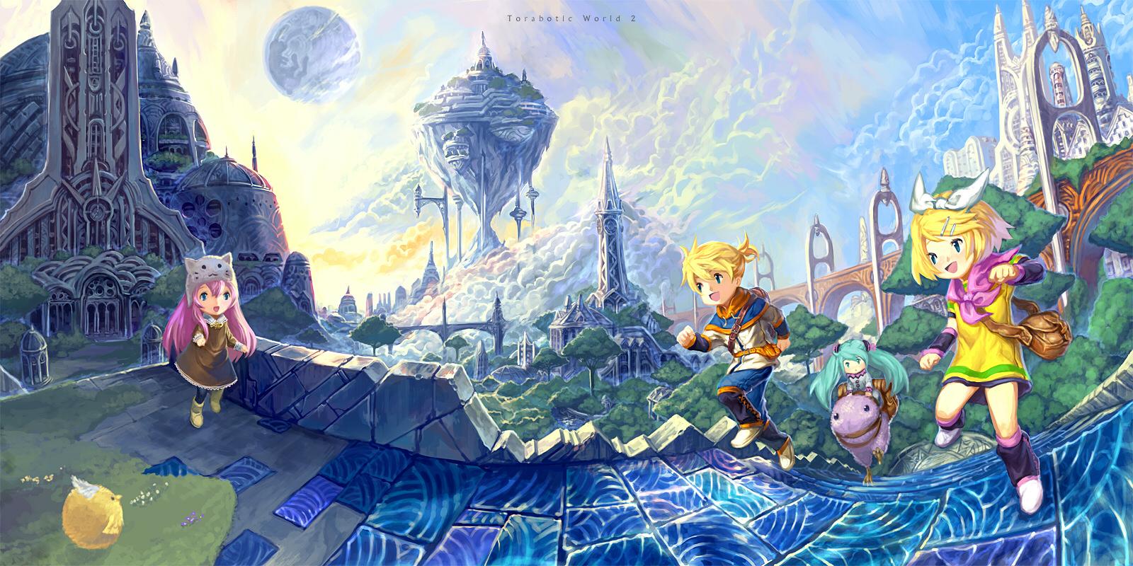 Floating Island | page 2 of 7 - Zerochan Anime Image Board