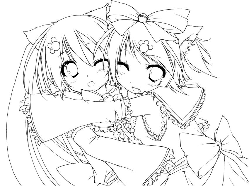 Vocaloid image 1263230 zerochan anime board hatsune miku neko coloring page