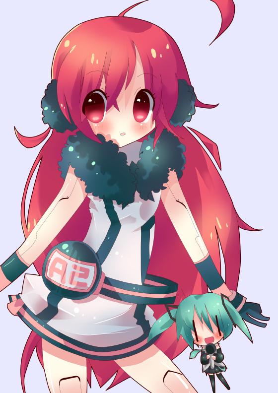 Tags: Anime, Pittan, VOCALOID, Hatsune Miku, SF-A2 miki, deviantART