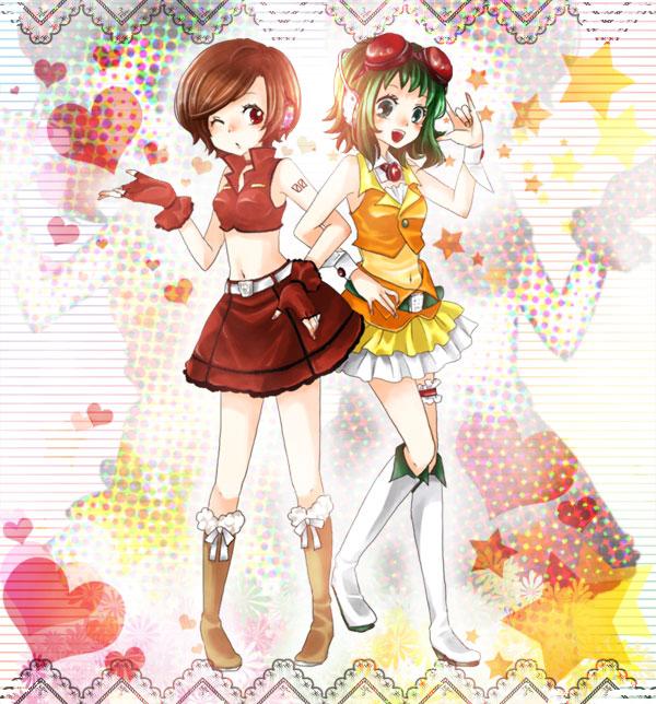 Tags: Anime, Mitsuka, VOCALOID, GUMI, MEIKO (VOCALOID), Pixiv