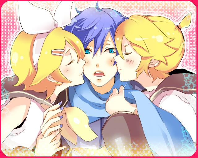 Tags: Anime, Toco (Sumika), VOCALOID, KAITO, Kagamine Len, Kagamine Rin
