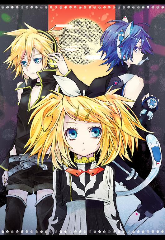 Vocaloid mobile wallpaper 1382065 zerochan anime image - Kagamine rin project diva ...