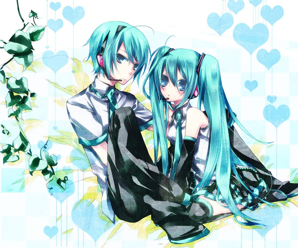 Tags Anime Mochikichi Pixiv982644 VOCALOID Hatsune Miku Mikuo