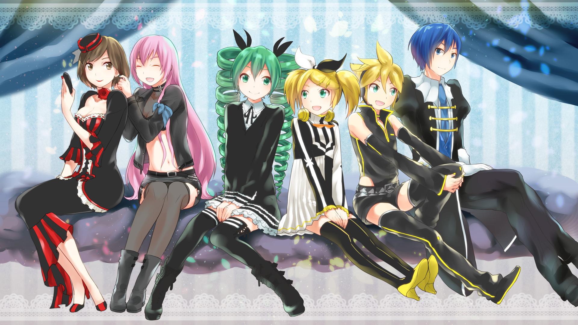 project diva 2nd wallpaper zerochan anime image board