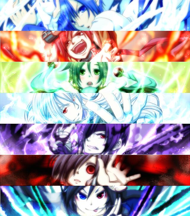 Tags: Anime, Pixiv Id 751828, VOCALOID, Kiaito, NIGAITO, Zeito, KAIKO, AKAITO, KAITO, Taito, Zentaito, Yandereloid