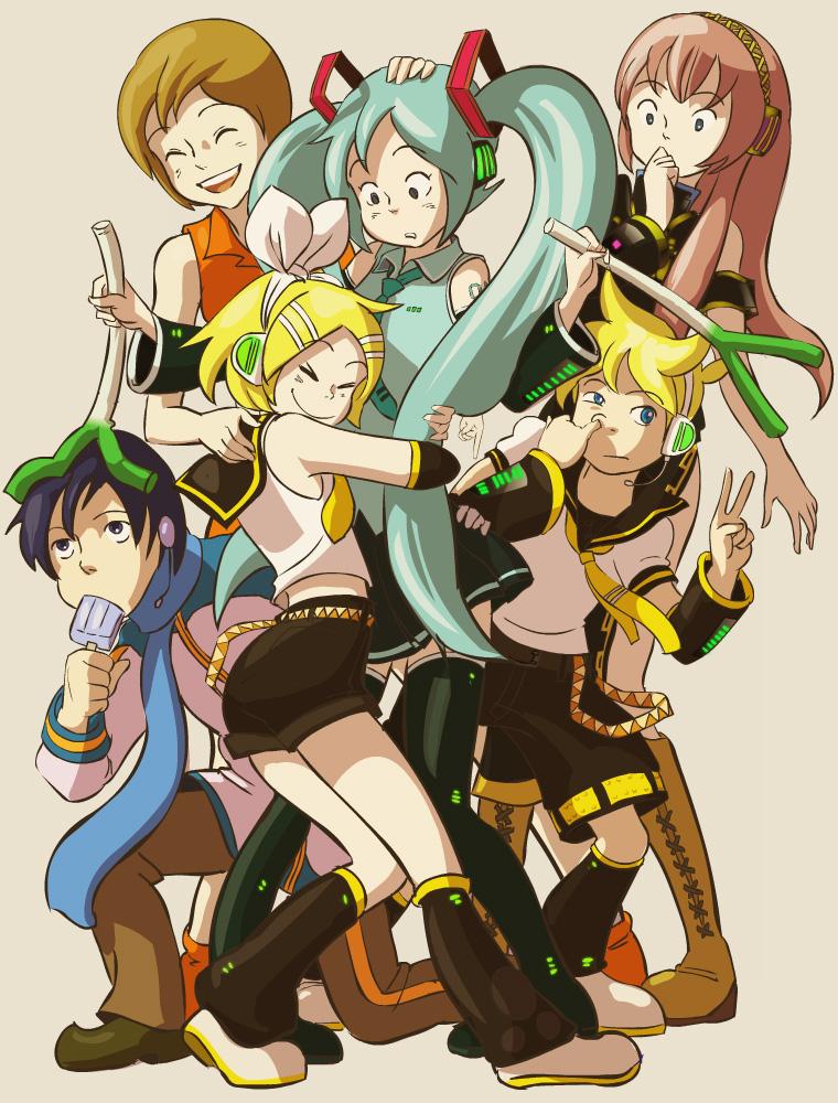 RinLen Kagamine Append  Vocaloid Wiki