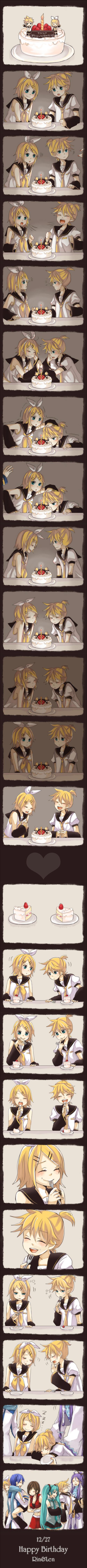 Tags: Anime, Tama Songe, VOCALOID, Kagamine Len, Kamui Gakupo, Kagamine Rin, MEIKO (VOCALOID), Hatsune Miku, KAITO, Strawberry Shortcake