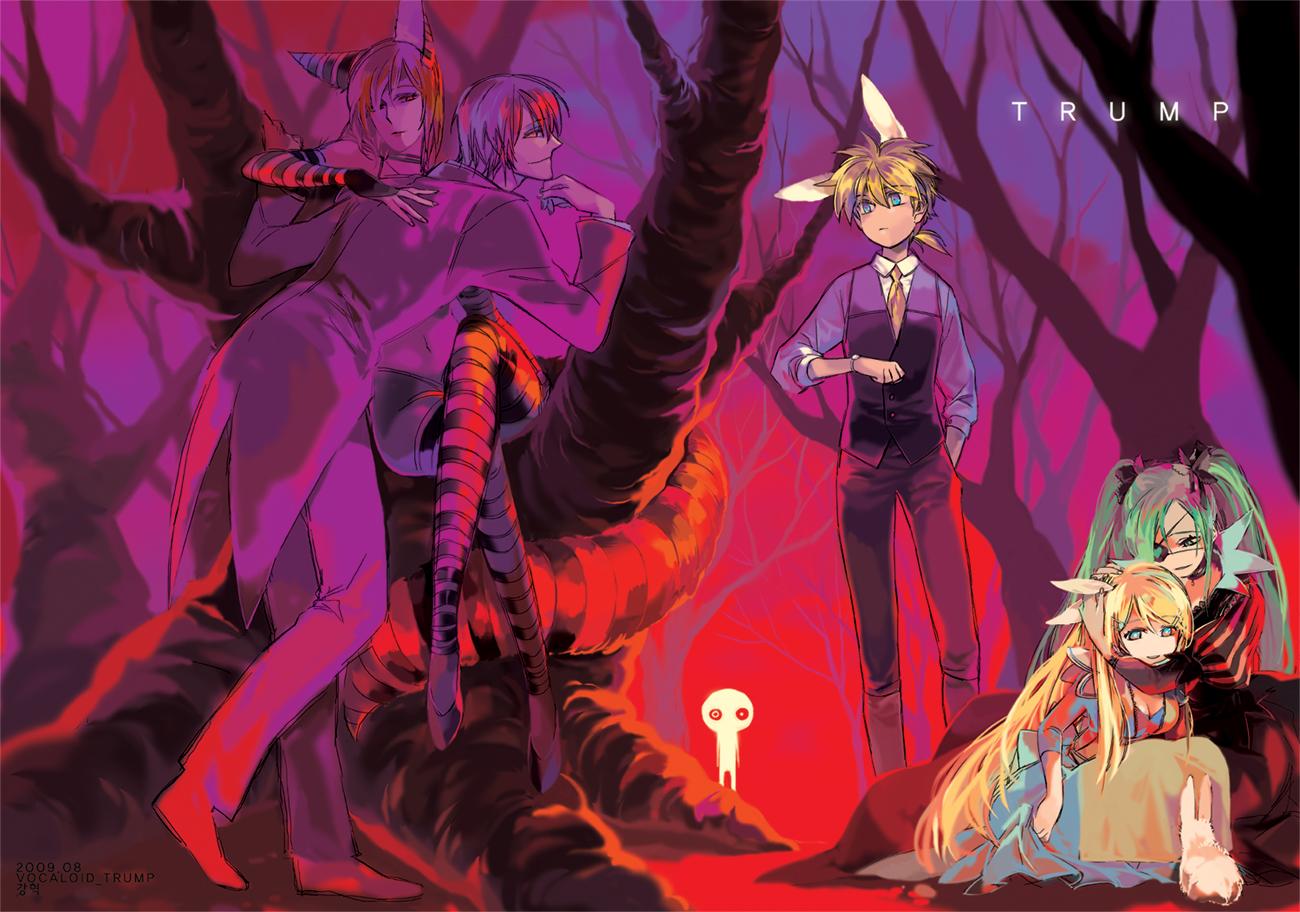 Vocaloid alice in wonderland