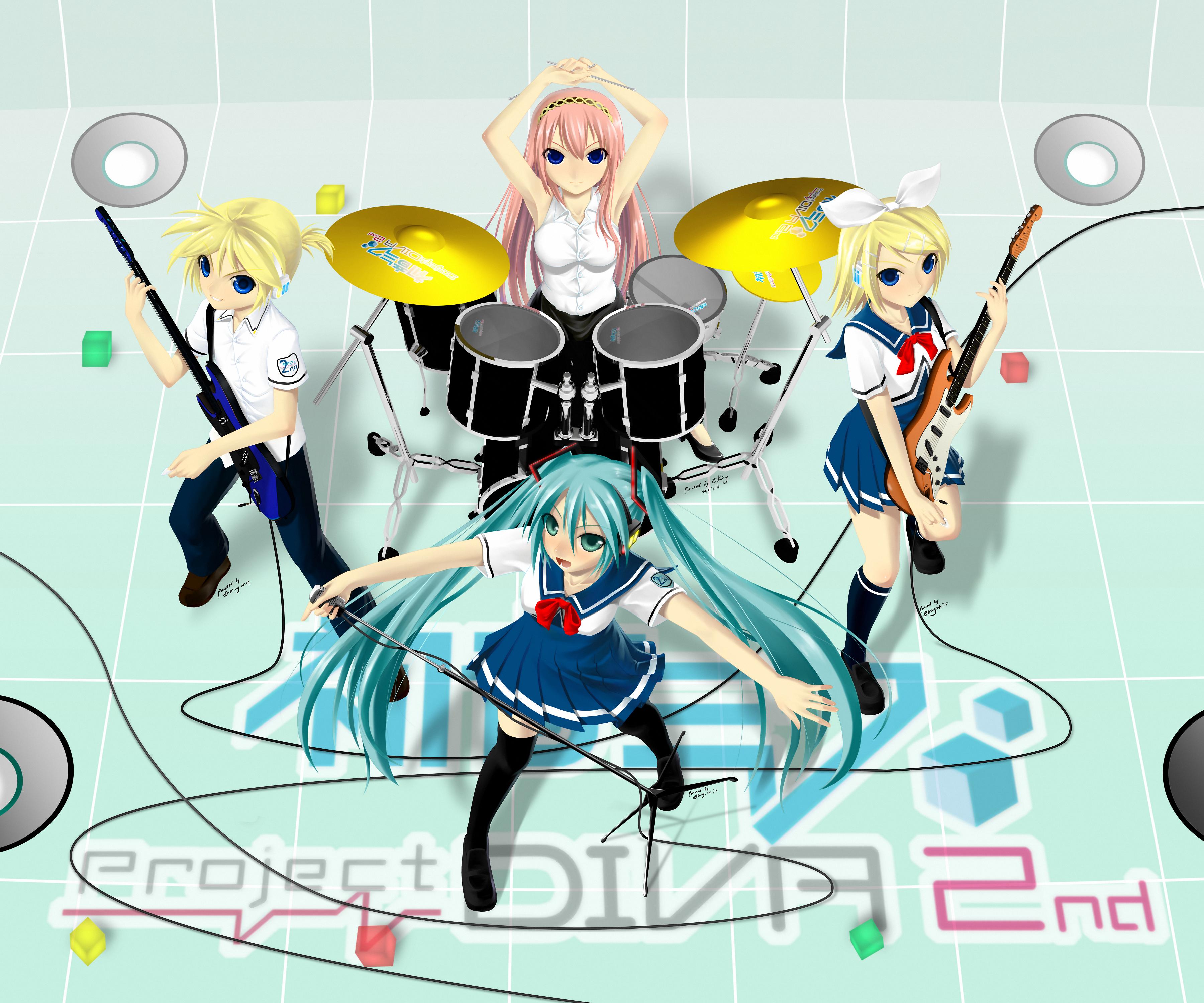 Vocaloid 775017 zerochan - Kagamine rin project diva ...