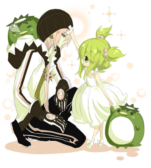 Tags: Anime, Ryuuguu Tsukasa, VOCALOID, GUMI, VY2, Snot Bubble, Kappa