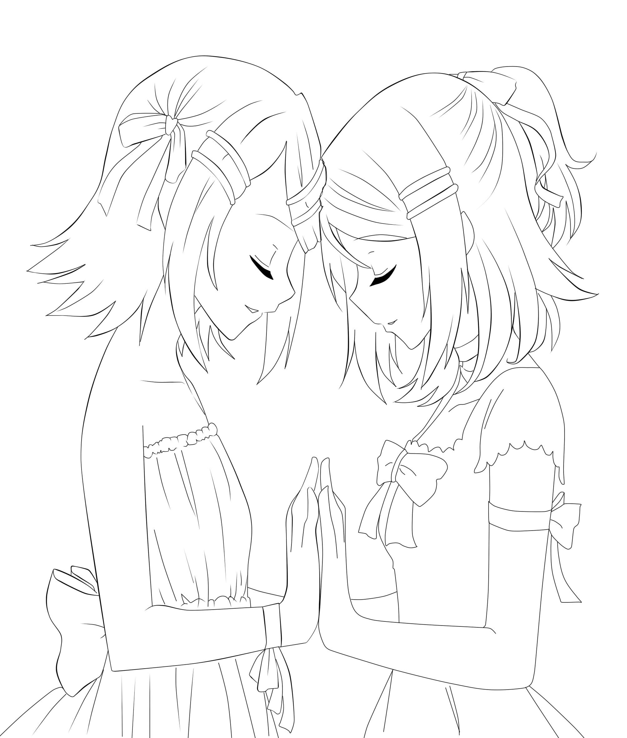 Zerochan Lineart : Vocaloid image  zerochan anime board