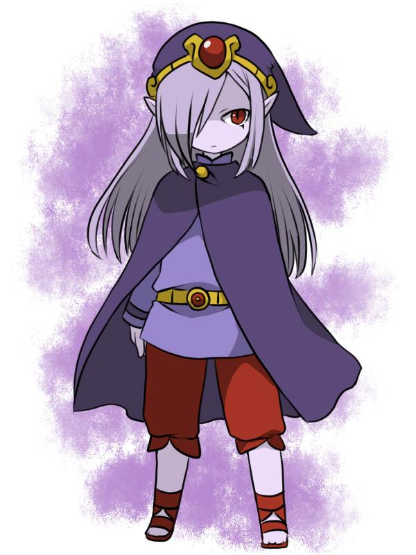 Tags: Anime, Pixiv Id 2003451, Zelda no Densetsu: Fushigi no Boushi, Zelda no Densetsu, Vaati, Purple Headwear, Purple Hat, Pixiv, Fanart, Fanart From Pixiv